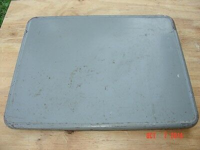 US Army Signal Corps Military Green Collapsible Rack Mount Operators Table