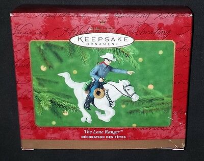 The Lone Ranger • Hallmark Keepsake Ornament 2000 - NEW IN BOX