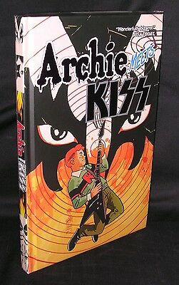 Archie Meets Kiss Hardcover Hc Limited Edition Brand New Mint Free Shipping