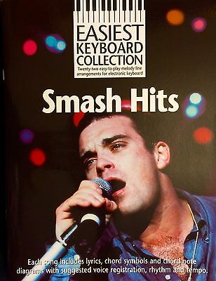 Easiest Keyboard Collection Smash Hits 22 Great Easy Songs To Play Music Book