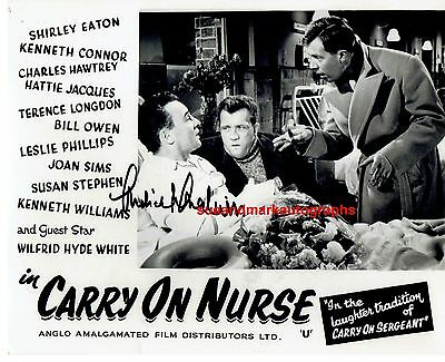 Michael Medwin Actor & Producer Carry On Nurse  Autograph UACC RD96