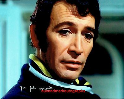 Peter Wyngarde No 2  The Prisoner Checkmate A  Autograph UACC RD96