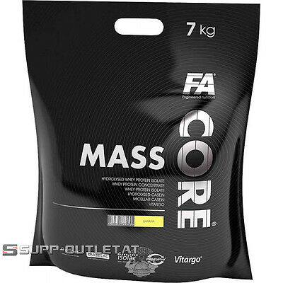 Fitness Authority - FA Nutrition - Core Mass - 7000g Weight Gainer Masseaufbau
