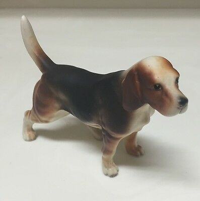Vintage  Beagle Dog Figurine