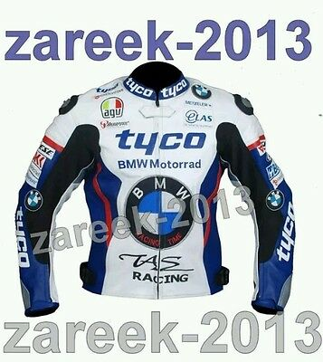 BMW tyco motorbike motoGp leather racing jacket all size