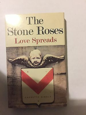 Stone Roses -love Spreads  On Cassette Tape
