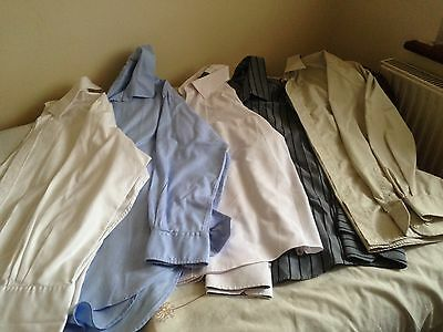 Men,s Shirts,size 16.5,set Of 5,g- Condition,g- Quality,t.m.jewin,boss & More,