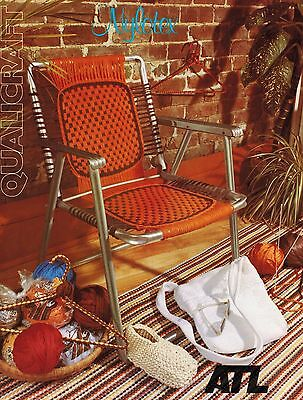 Nylotex Qualicraft Placemat Lawn Chair Slippers Coat Hanger Weaving Pattern
