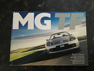 MGTF Owners manual / Service book,etc, Ideal Spares, Sales Car, needs ?