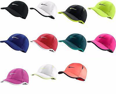 Brand NEW with Tags Authentic NIKE FEATHER LIGHT WOMENS Hat Cap Dri Fit e101fddf9bc0