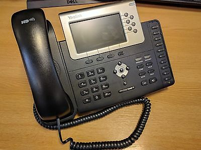 Yealink T38G Gigabit Color HD VoIP IP Telephone Phone Handset SIP-T38G