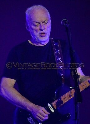 David Gilmour Photo 8x10 inch 2016 MSG NYC, NY Rattle That Lock Concert Tour 38