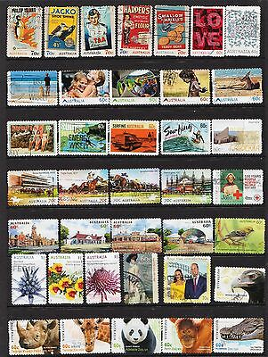 Page Of Australian Stamps ( Ref 2A ) Used