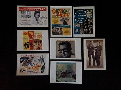 1960's R&B Images, Eight Large Postcards