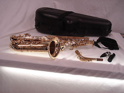 Harrison Alto Saxophone - with Case - SERVICED
