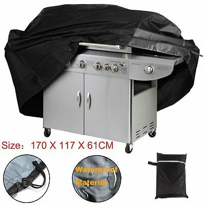 170CM BBQ Cover Outdoor Waterproof Barbecue Covers Garden Patio Grill Protector