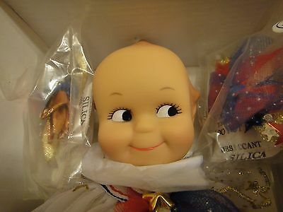 Rare Effanbee Kewpie Doll V3089 Angel Of Peace And Freedom Original Box