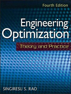 Engineering Optimization: Theory and Practice by Singiresu S. Rao Hardcover Book