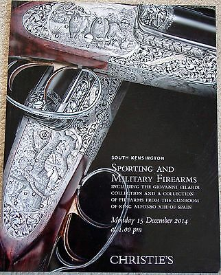 Christie's Sporting And Military Firearms Auction Catalog December 2014