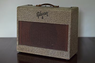 Vintage 1955 Gibson GA-6 Combo Amplifier professionally serviced & ready to rock