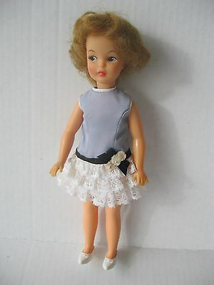 """Ideal 9"""" Pepper With Original Clothing Vintage 1963"""