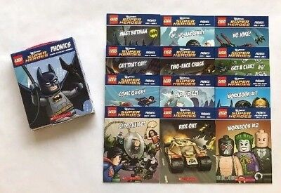 Lego DC Phonics Super Heroes Pack 1 Learning to Read Kids Books Box Set Lot 12