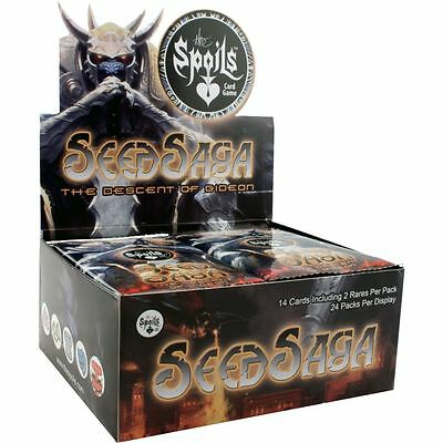 The Spoils - Seed Saga: The Descent of Gideon - Booster Box