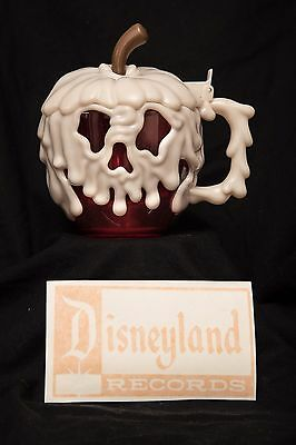 Disneyland Halloween Poison Apple Mug Cup Limited Edition 2016+vinyl Decal!