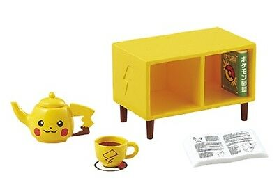 12/2016 Re-Ment PokeMon Welcome to Pikachu Room Set # 7 Tea time