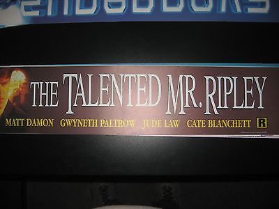 Theater Marquee Mylar The Talented Mr Ripley