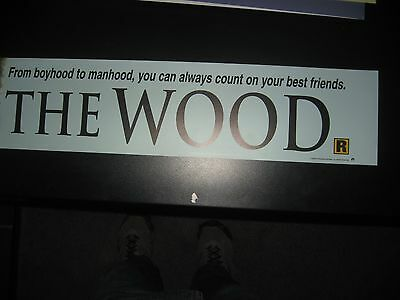 Theater Marquee Mylar  The Wood