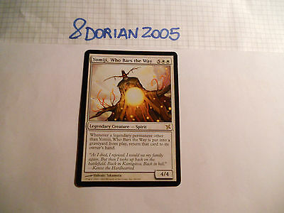 1x MTG Yomiji che Sbarra la Via-Who Bars the Way Magic EDH BOK Kamigawa ITA-ING