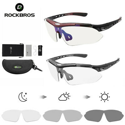 ROCKBROS Polarized Bicycle Cycling Four Style SunGlasses Goggles Eyewear Glasses
