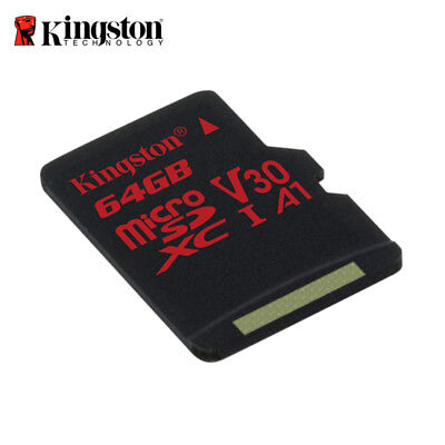 Kingston Canvas React 64GB micro SDXC UHS-I U3 Speicherkarte für 4K Camcorder