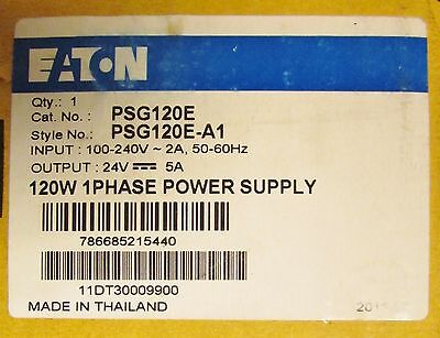 EATON PSG120E 100-240V Input 24V Output 120W Power Supply