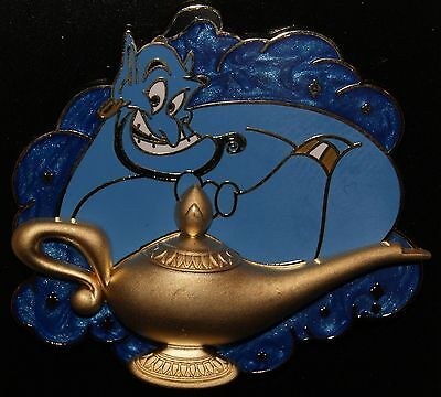 Disney 2015 Genie with Magic Lamp from Aladdin Pin New on Card