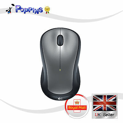 New Logitech Wireless Mouse M310 Grey (Not In Box)
