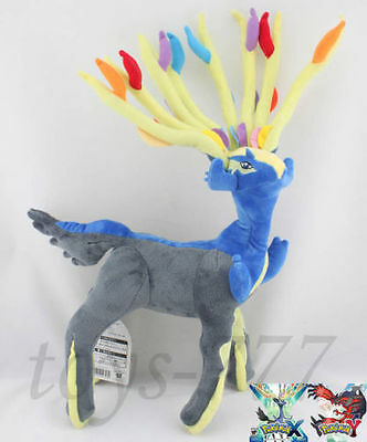 "Legendary Pokemon Xerneas Character 18"" Plush Toy Nintendo Game Stuffed Animal"