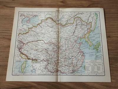 Chinese map printed in 1890, Hangaly  EMS 2week arrive!