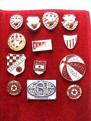 FK Backa-Subotica ex Yugoslavia soccer football pin badge collection