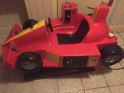 Children's Sit On Car Coin Operated Kiddy Ride