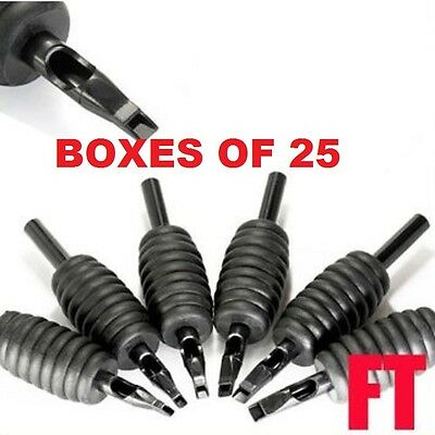 Box 25 4F 5F 7F 9F Magnums Disposable Tubes Tips Grip Combo Uk Stock