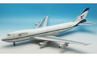 INFLIGHT200 Boeing 747-200 IRAN AIR EP-IAG (POLISHED, WITH STAND) a metal model