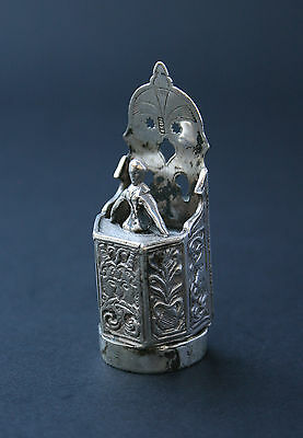 Antique Continental Silver Miniature Hallmarked - French Flea Market Find