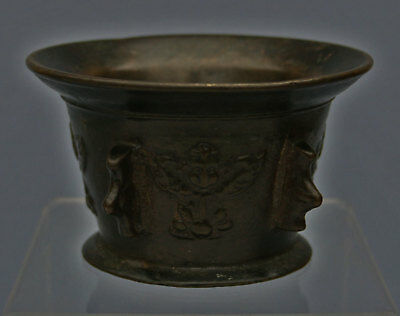 Antique Bronze Mortar Apothecary