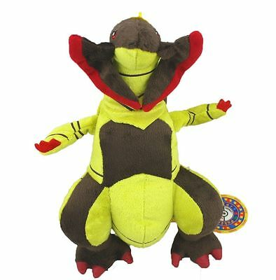 Pokemon Haxorus Axew Fraxure Evolution Figure Dragon Plush Toy Stuffed Doll