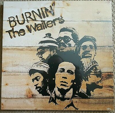 Bob Marley & The Wailers - Burnin'  Vinyl Lp New & Sealed