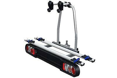 PP1502 Car bicycle rack Da Towbar Model RACE 2 Hook Fixed With Lanes In alu.
