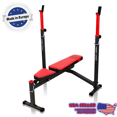 Marbo Sport Advanced Adjustable Lifting Bench with integrated racks