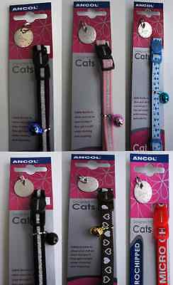 Safety Cat Collars With Engraved Id Tag - Limited Time Special Offer - Bargain